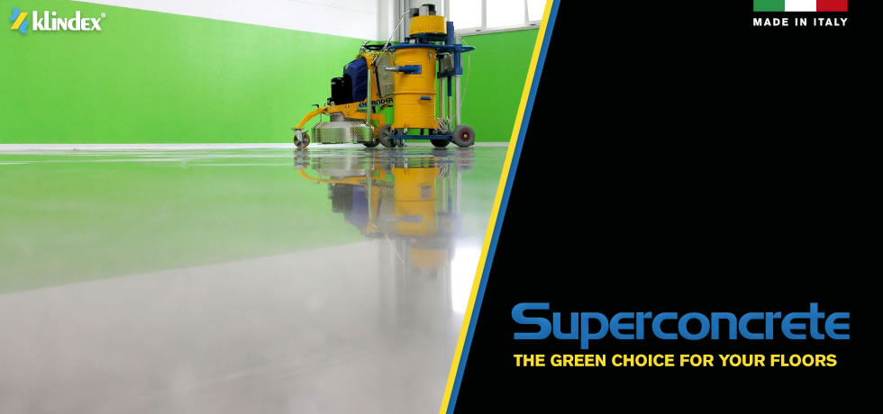 Superconcrete: ecologic, economic, beautiuful, resistant floor system