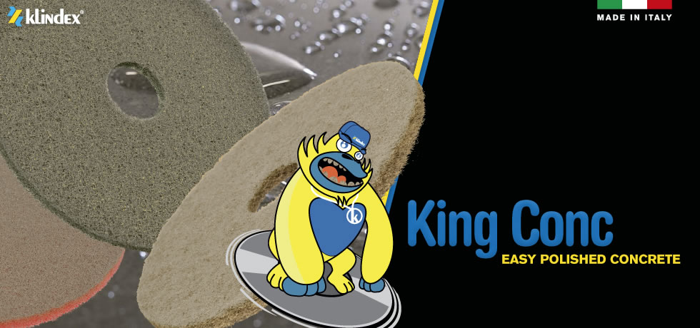 King Conc: Easy & Fast Polishing Concrete floors