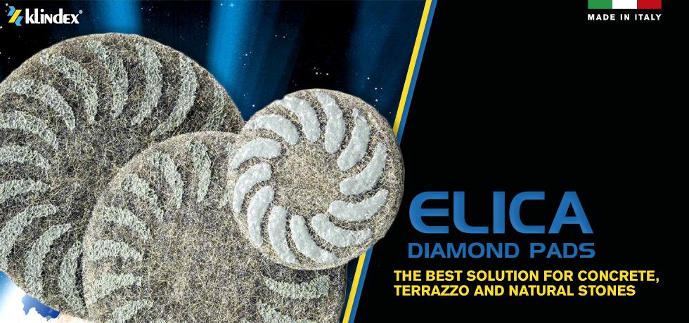 Elica Diamond Pads for polished concrete by klindex