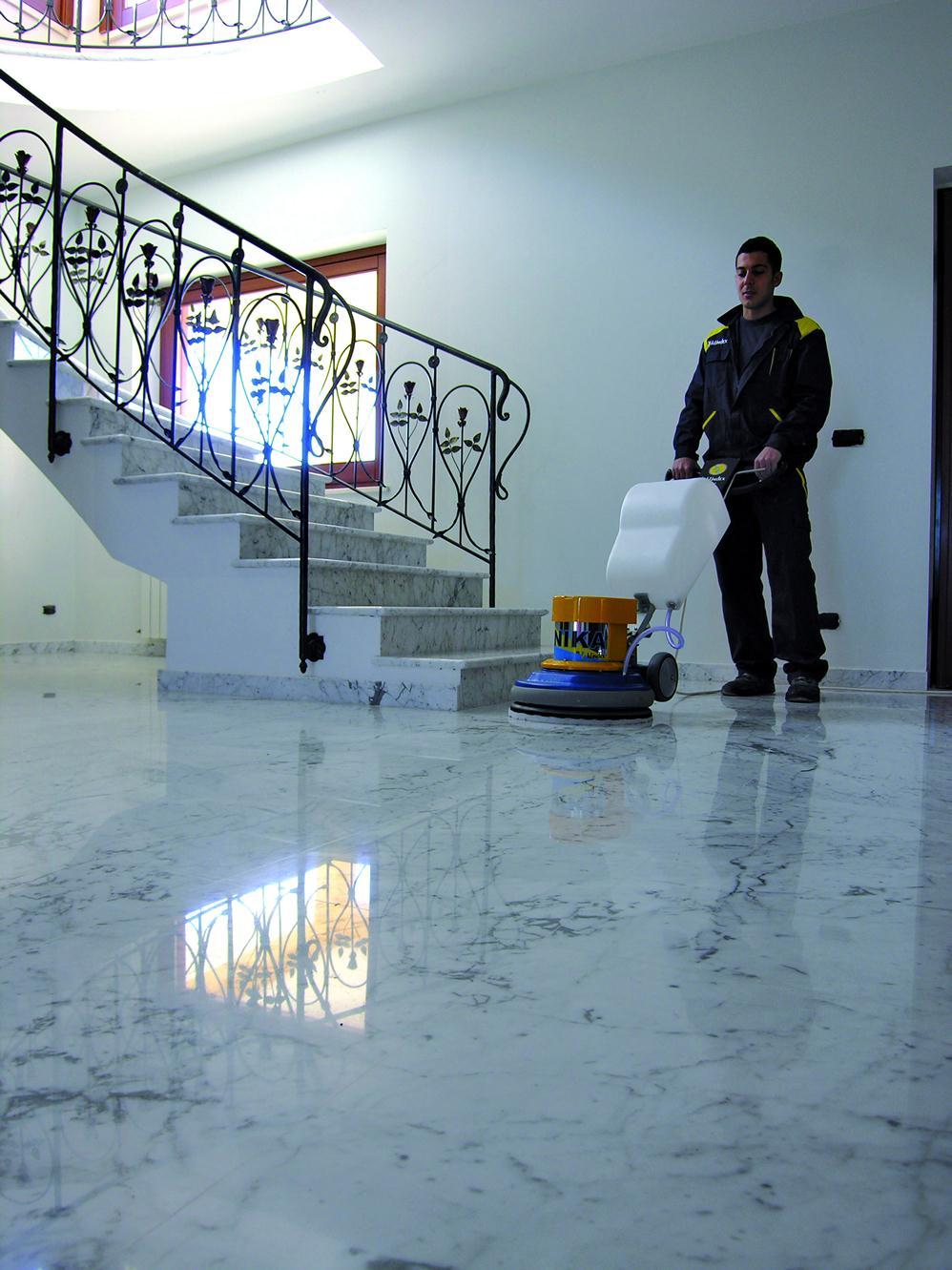 Prodotti Per Ravvivare Il Cotto monospazzole per pavimenti in parquet, cotto, marmo, cemento